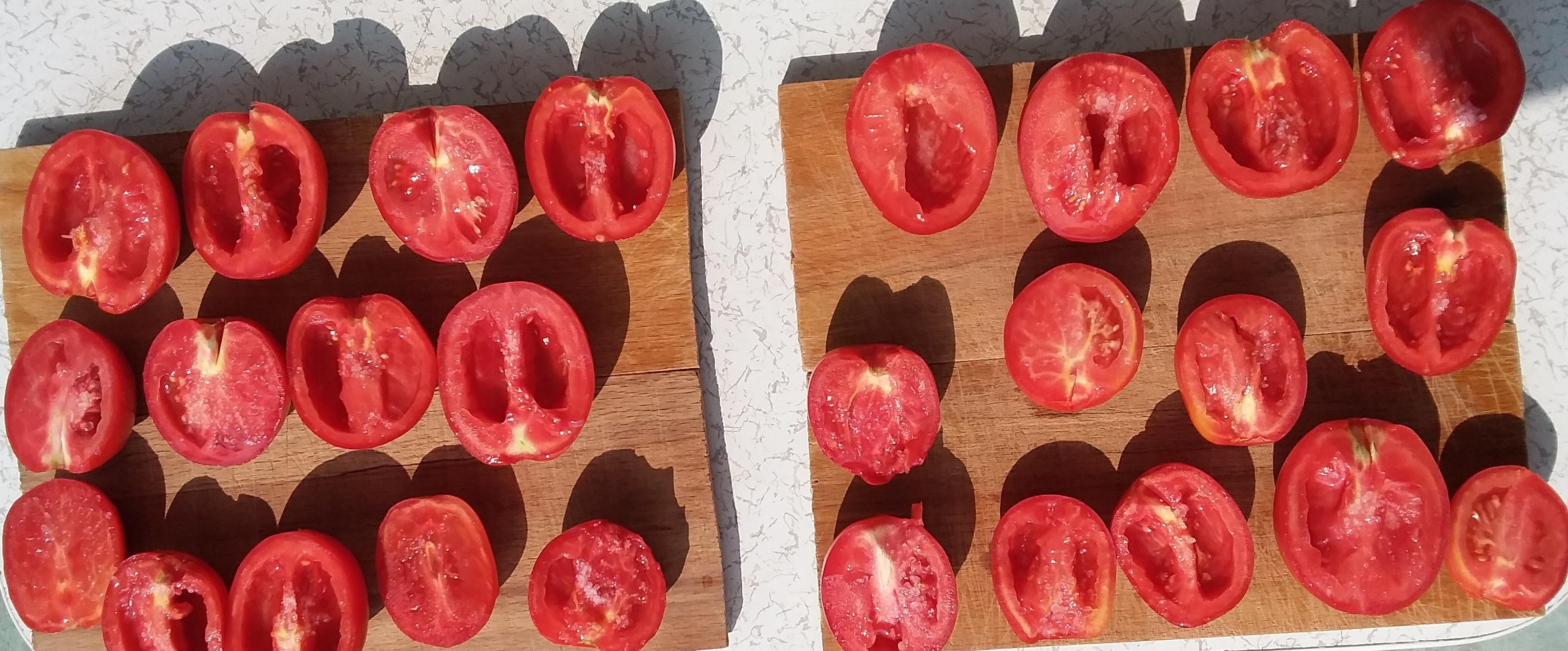 drying tomato